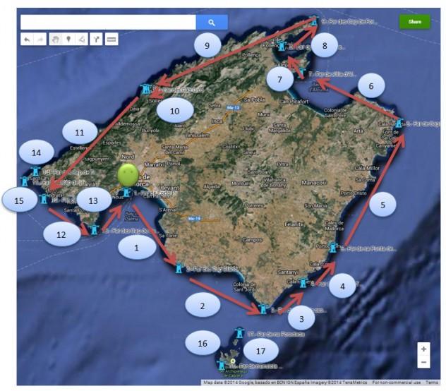 Autoridad Portuaria de Baleares: Proyecto Camino de los Faros de Baleares 1